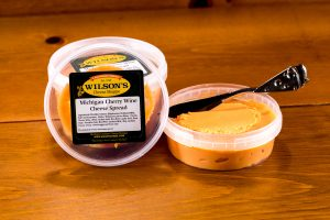 Michigan Cherry Wine Cheese Spread